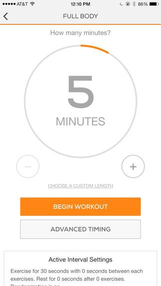 Sworkit Lite Personal Trainer - Imagem 3 do software