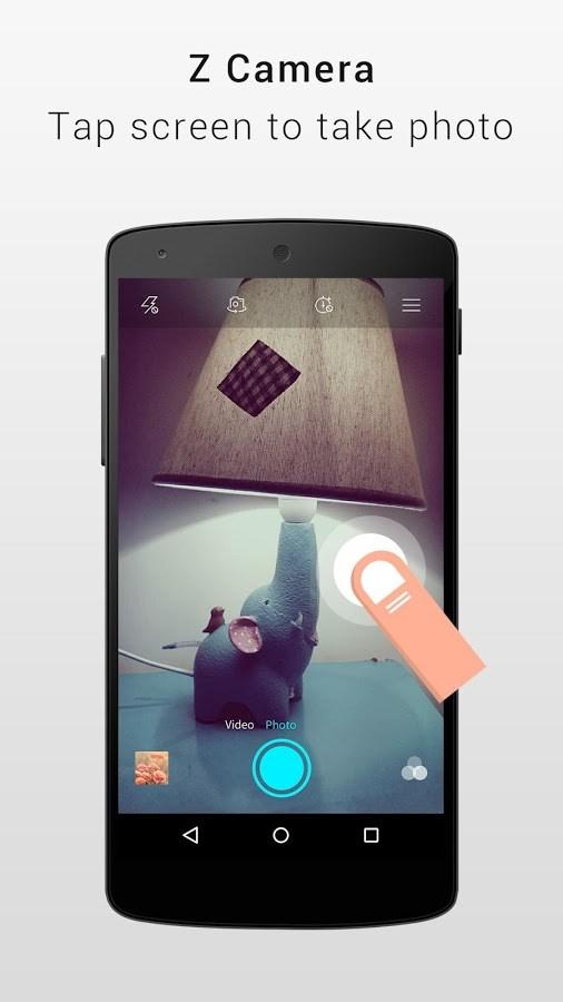 Z Camera - Imagem 2 do software