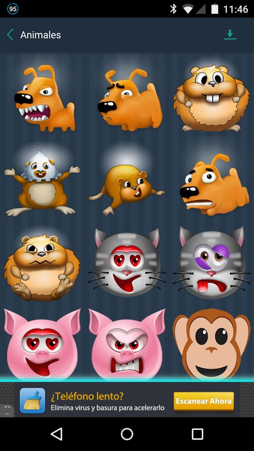 Stickers Smileys WhatsApp - Imagem 2 do software