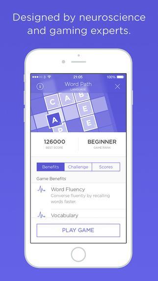 Peak - Jogos para o Cérebro - Imagem 2 do software