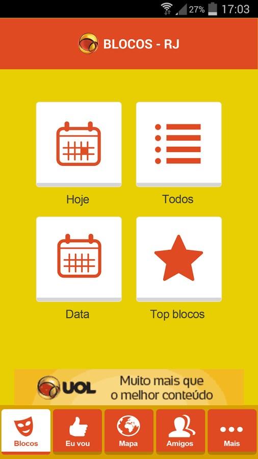 CarnaUOL - Imagem 1 do software