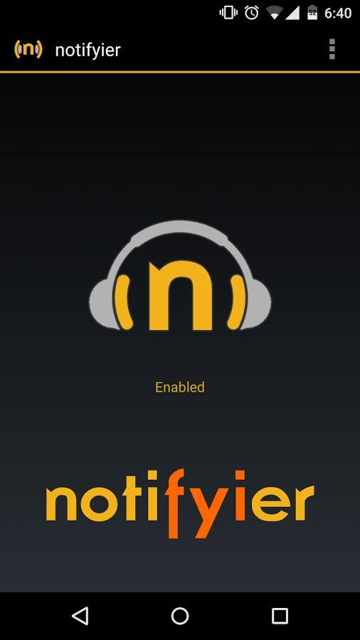 Notifyier - Imagem 1 do software