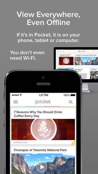 Pocket - Imagem 2 do software
