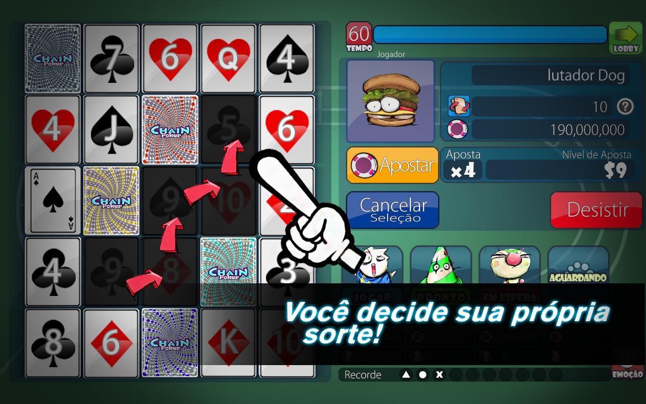 Chain Poker - Imagem 1 do software