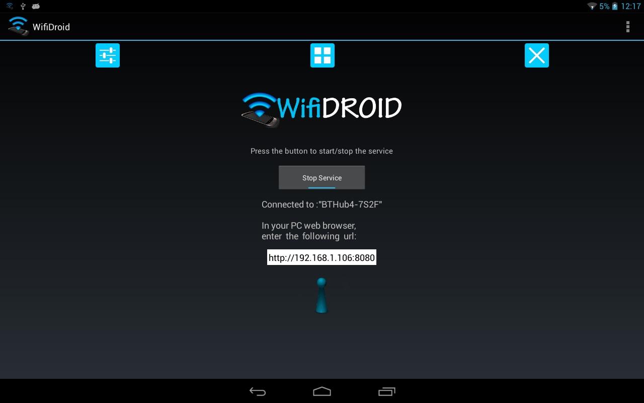 WifiDroid - Imagem 1 do software