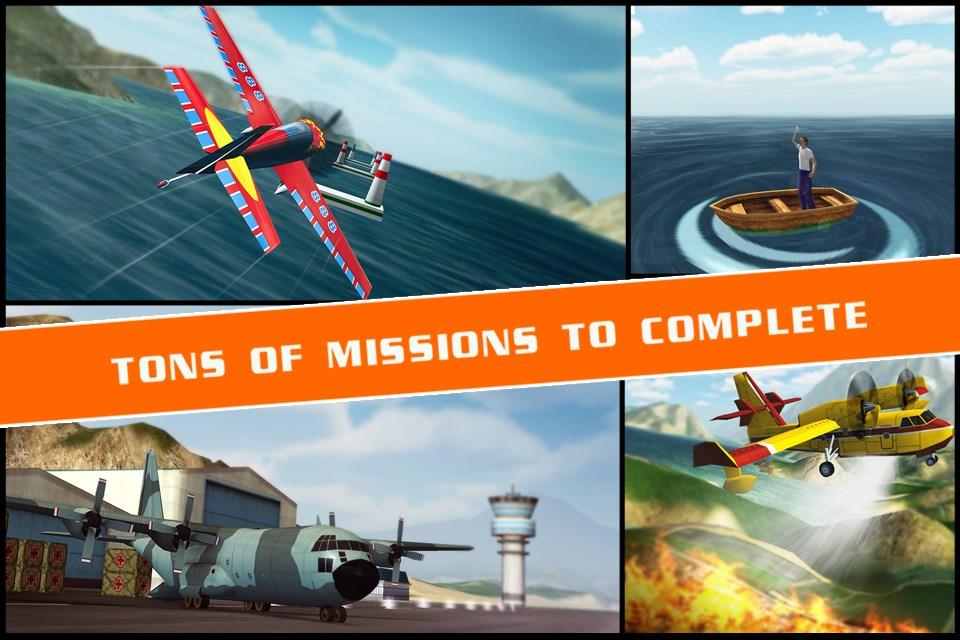Flight Pilot Simulator 3D Free - Imagem 1 do software