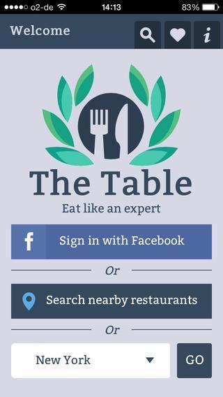 The Table Restaurants - Imagem 1 do software