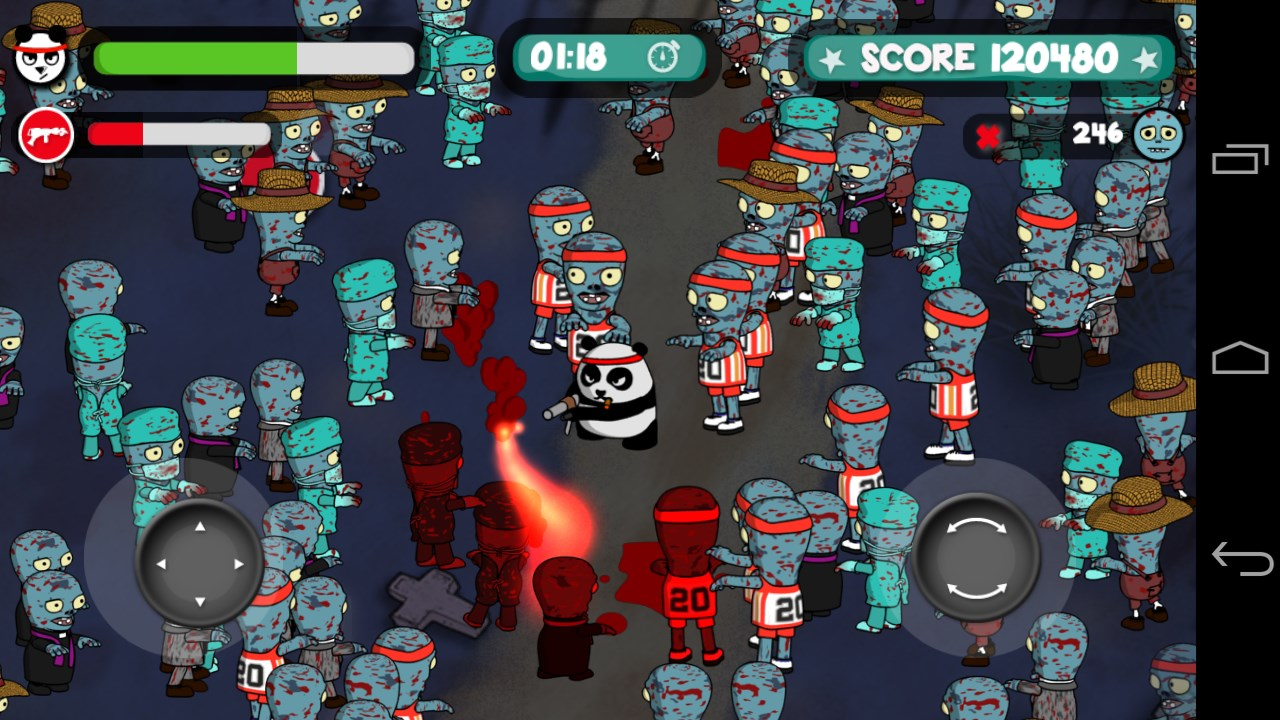 Panda vs Zombies: Elvis Rage - Imagem 1 do software