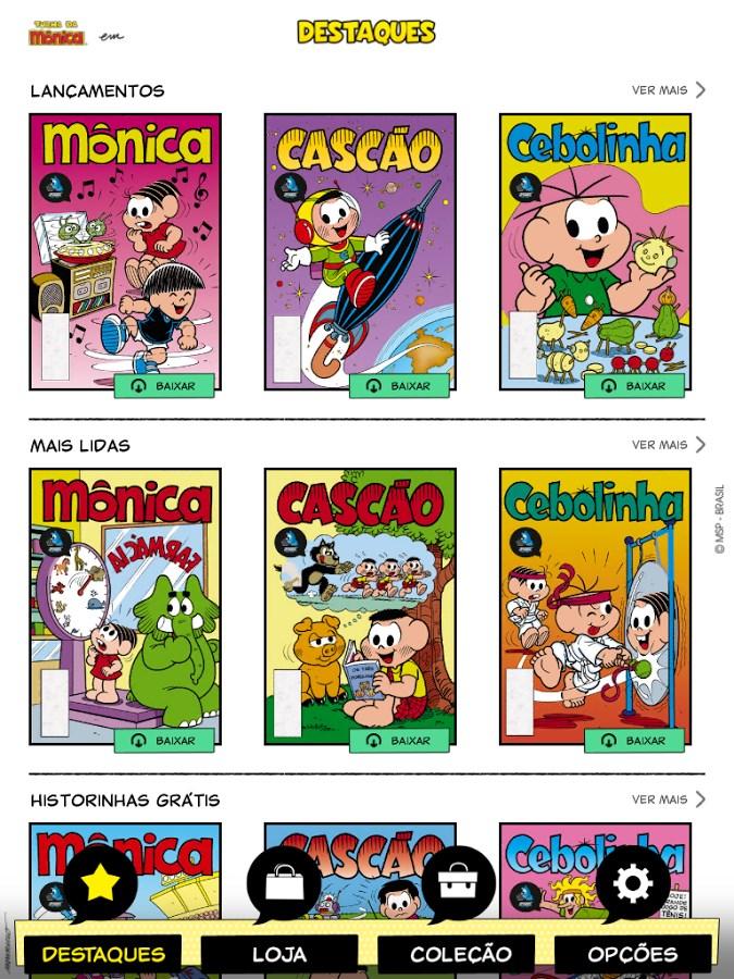 Caixa de Quadrinhos - Imagem 1 do software