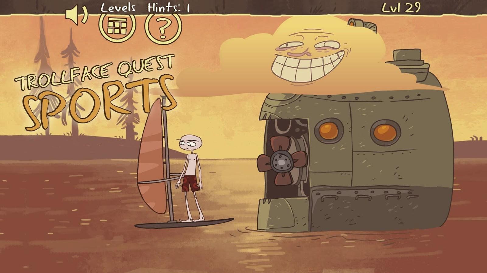 Troll face Quest Sports Puzzle - Imagem 1 do software