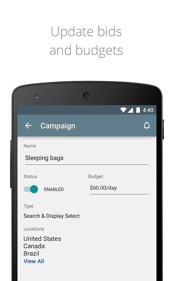 AdWords - Imagem 2 do software