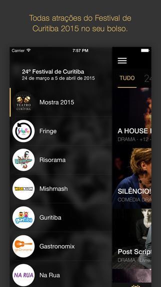 Festival de Curitiba 2015 - Imagem 1 do software