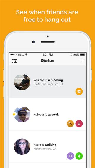 Status - spend more time with friends - Imagem 1 do software