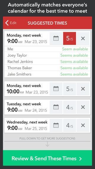 Meekan Smart Meeting Scheduler for Google and Exchange Calendars - Imagem 1 do software