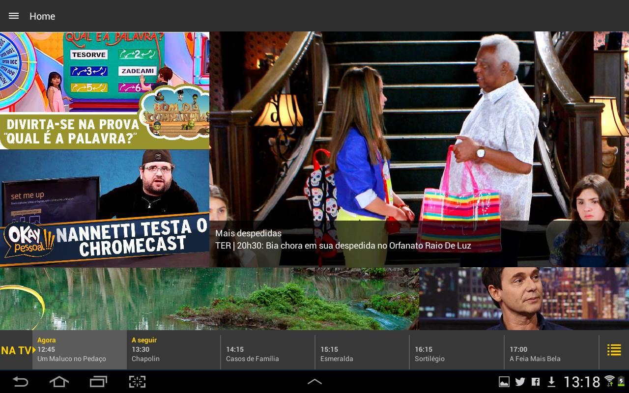 TV SBT - Imagem 1 do software