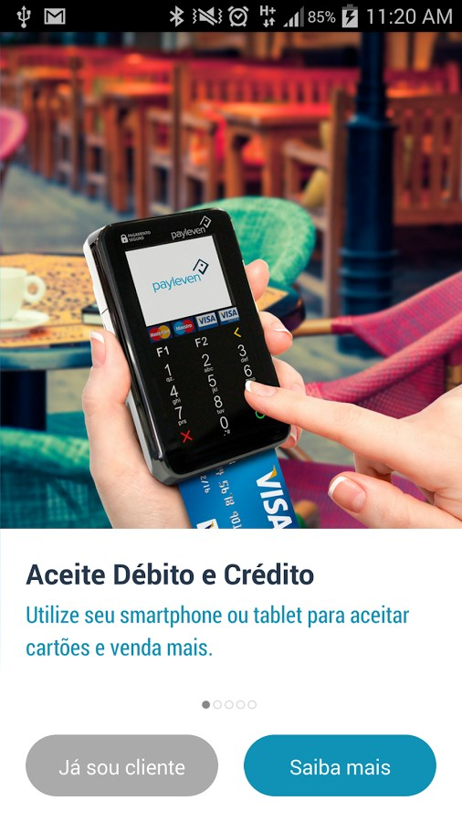 Payleven Chip&Senha - Imagem 1 do software