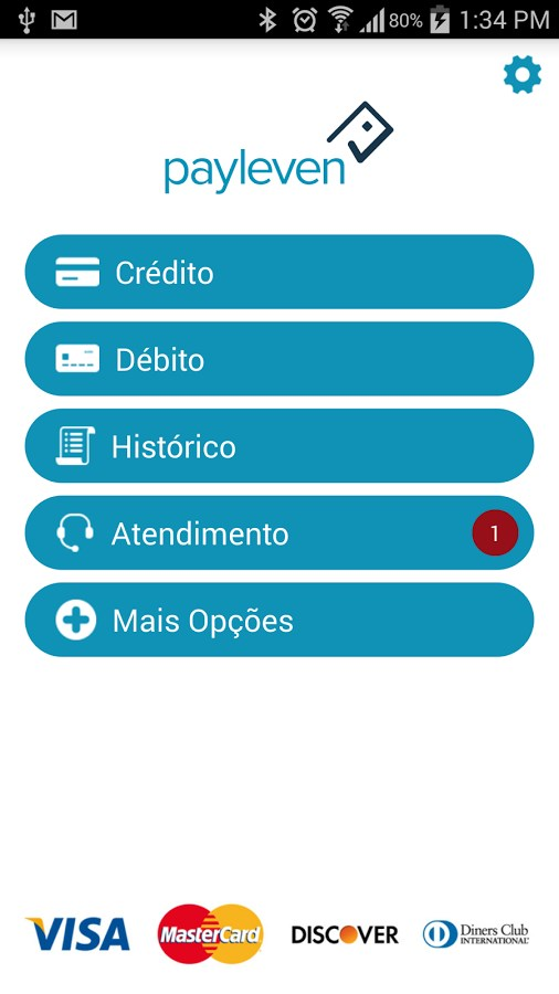 Payleven Chip&Senha - Imagem 2 do software