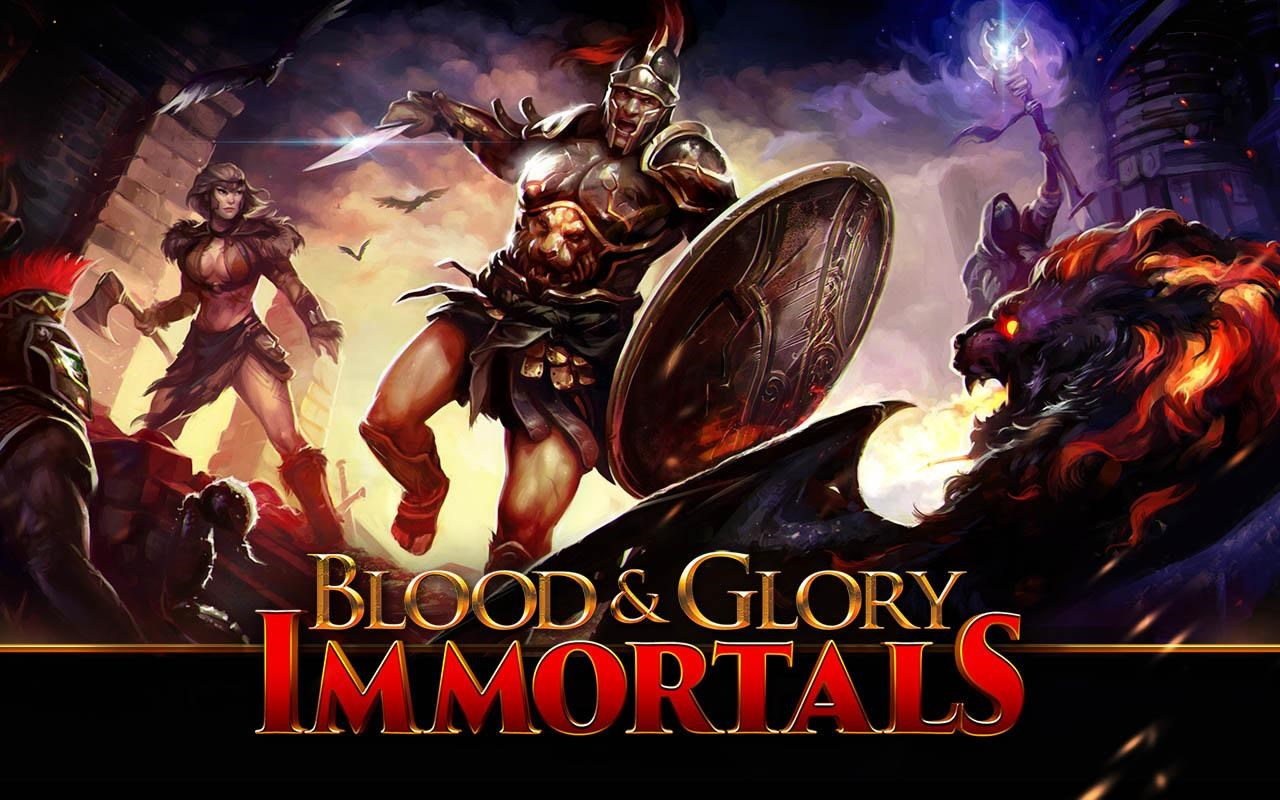 BLOOD & GLORY: IMMORTALS - Imagem 1 do software
