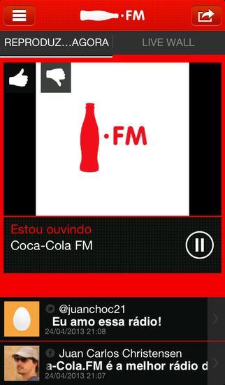 Coca-Cola FM Brasil - Imagem 1 do software
