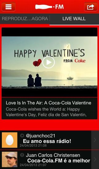 Coca-Cola FM Brasil - Imagem 2 do software