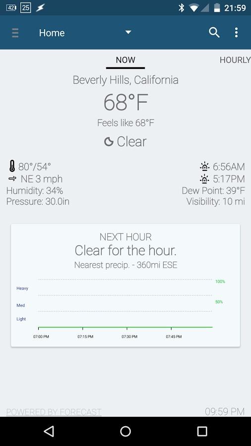 Arcus Weather - Imagem 1 do software