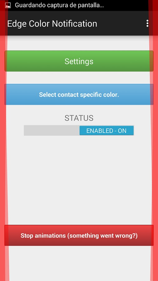 Edge Color Notifications - Imagem 2 do software