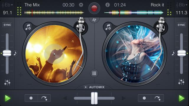 djay LE - The DJ App for iPhone - Imagem 1 do software