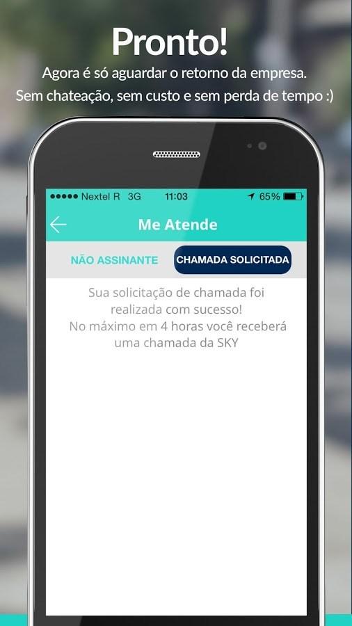 Me Atende - Ligue grátis (SAC) - Imagem 2 do software