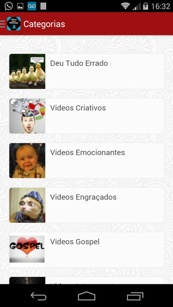 Videos Para Whatsapp (Leandro Web) - Imagem 1 do software