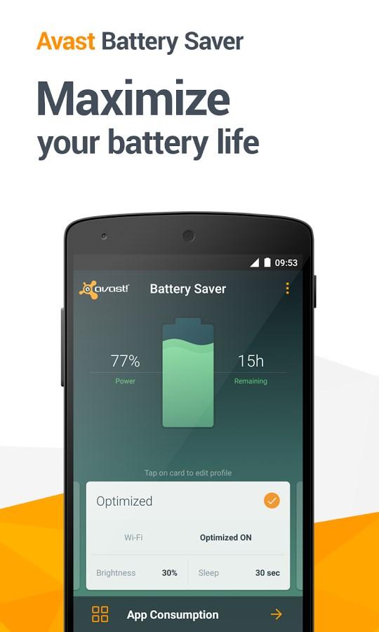 Avast Battery Saver - Imagem 1 do software