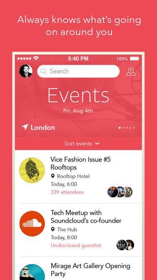 VAMOS - The Event Guide - Imagem 1 do software