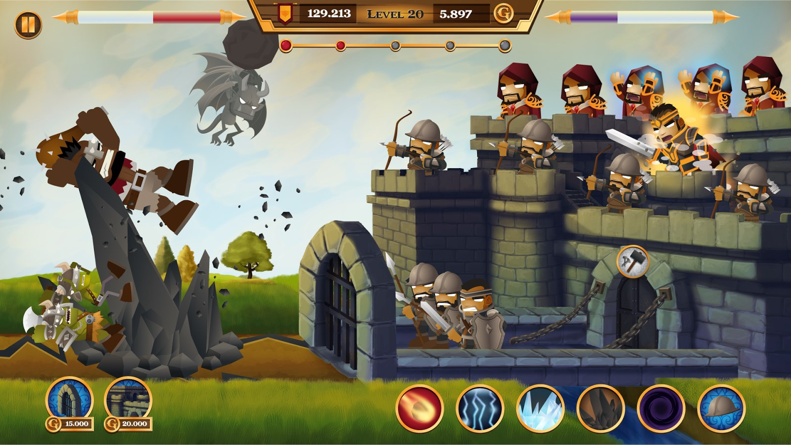 Monster Rush! Lite - Imagem 1 do software