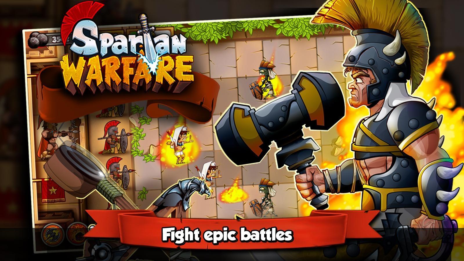 Spartan Warfare - Imagem 1 do software