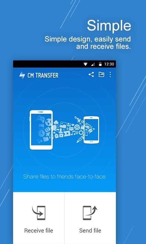 CM Transfer - Share Files - Imagem 1 do software