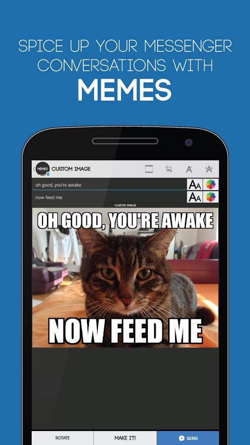 Memes for Messenger - Imagem 2 do software