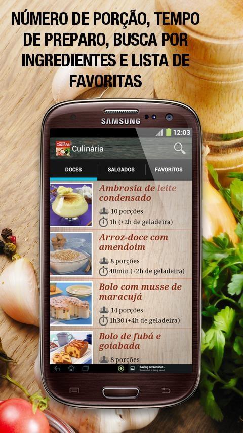 Guia da Cozinha - Imagem 1 do software