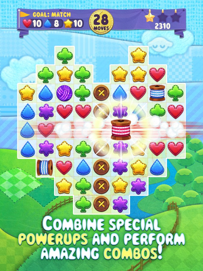 Fluffy Shuffle - Match-3 Game - Imagem 1 do software