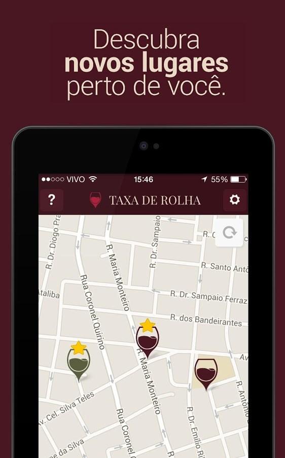 Taxa de Rolha - Imagem 2 do software