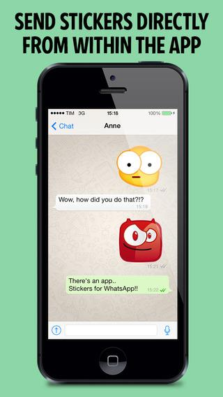 Stickers for WhatsApp WeChat Instagram - Imagem 1 do software