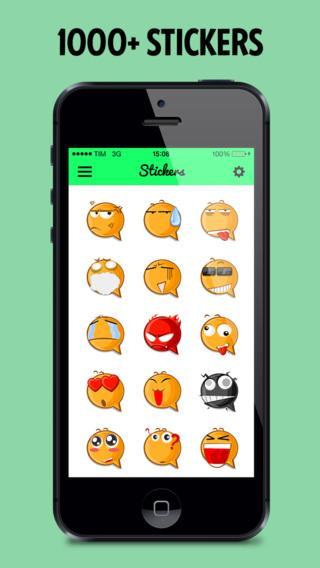Stickers for WhatsApp WeChat Instagram - Imagem 2 do software