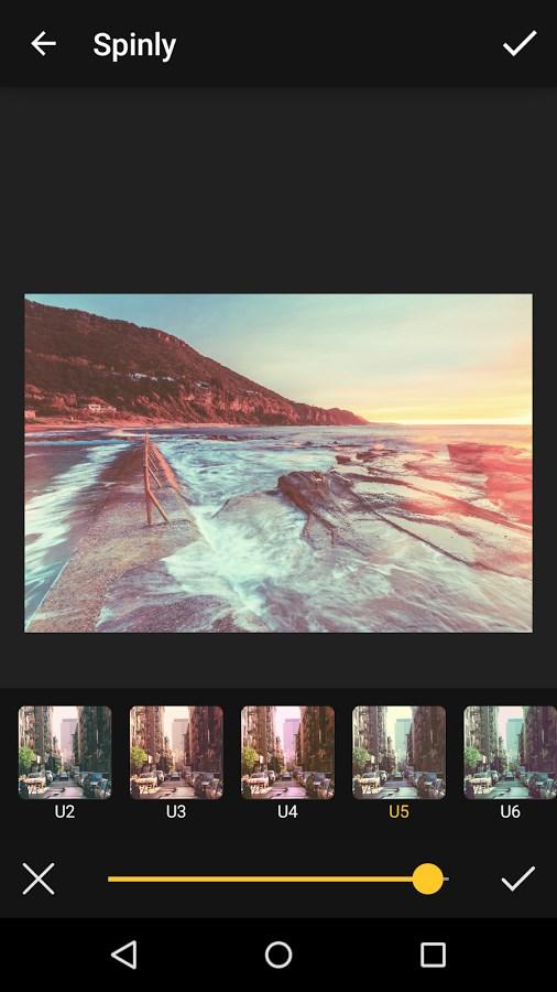 Spinly Photo Editor - Imagem 1 do software