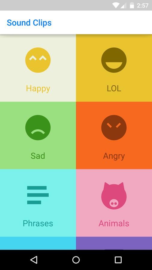 Sound Clips for Messenger - Imagem 1 do software