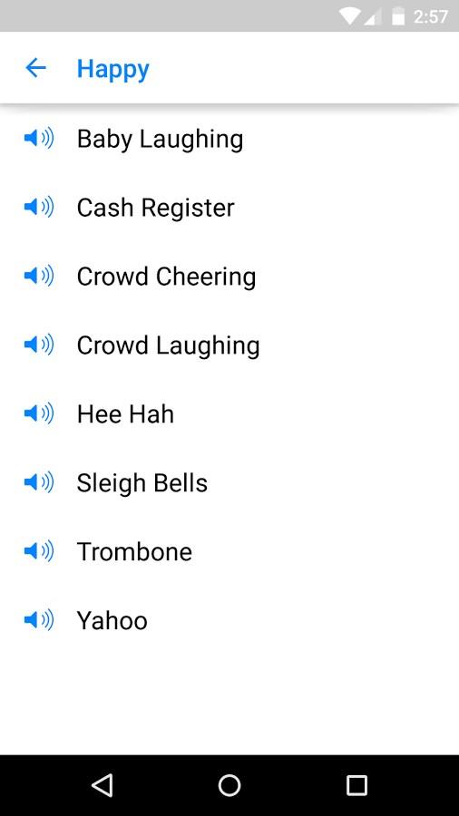 Sound Clips for Messenger - Imagem 2 do software