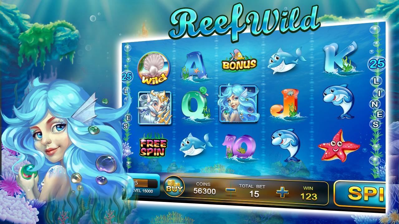 Slot Oasis - free casino slots - Imagem 1 do software
