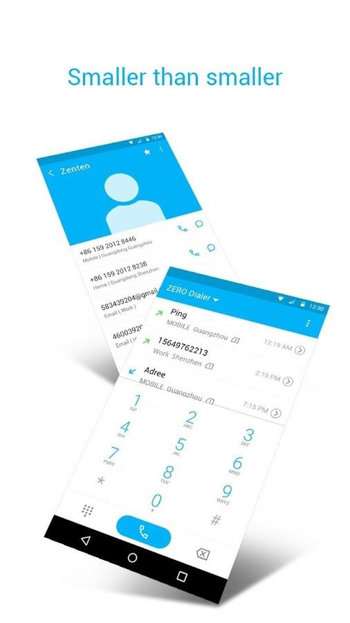 ZERO Dialer & Contacts & Block - Imagem 2 do software