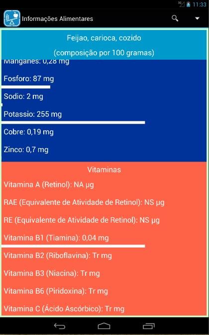 Guia Nutricional Gratuito - Imagem 2 do software