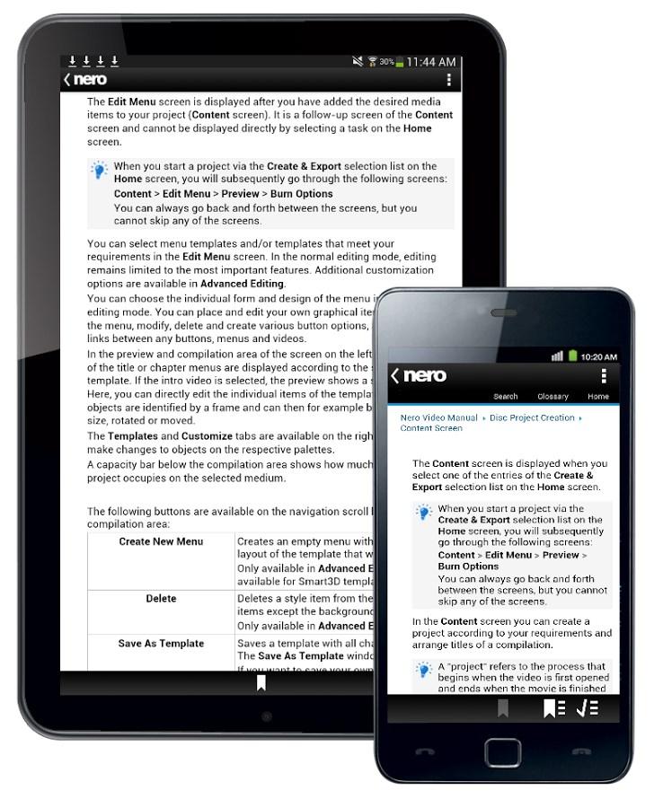 Nero Video Manual - Imagem 2 do software