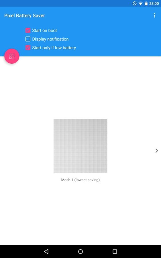 Pixel OFF Save Battery AMOLED - Imagem 1 do software