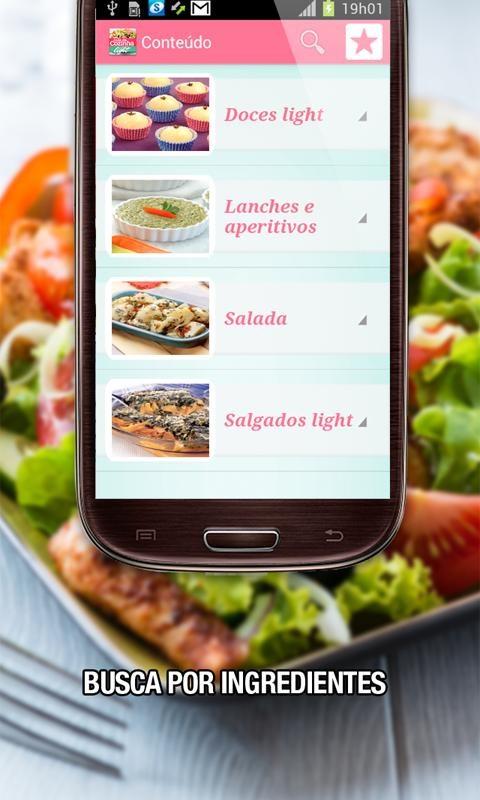 Guia da Cozinha Light - Imagem 2 do software
