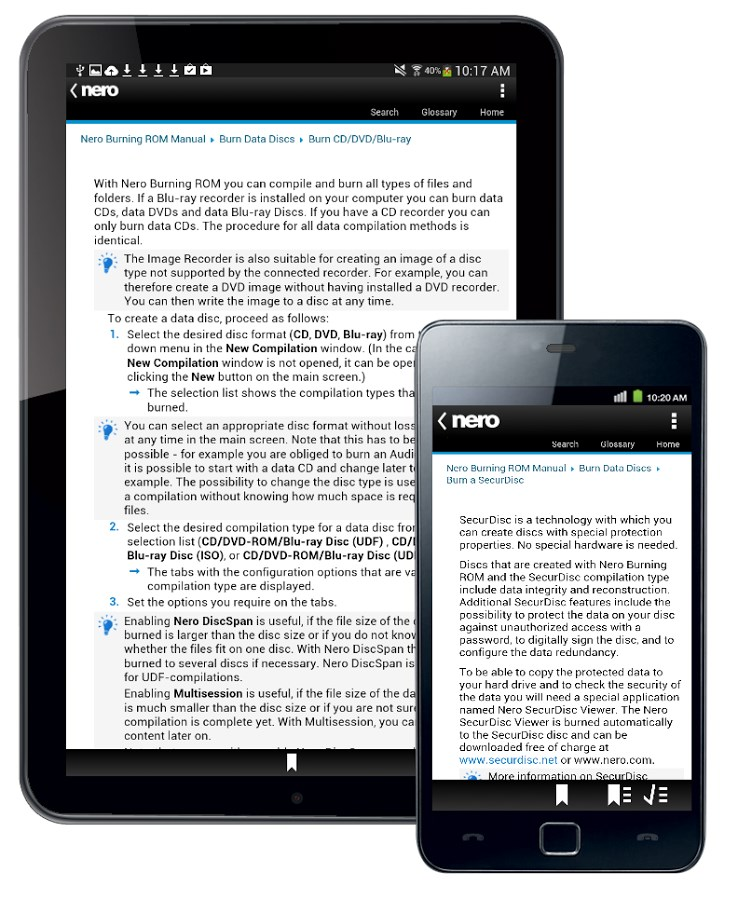 Nero Burning ROM Manual - Imagem 2 do software
